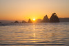 Sunset on the Olympic Coast