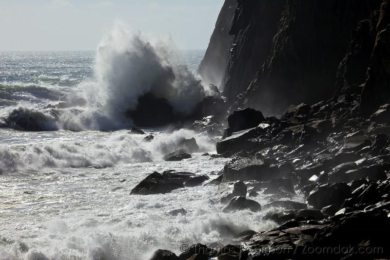 Wave Crash, Neahkahnie Cliffs