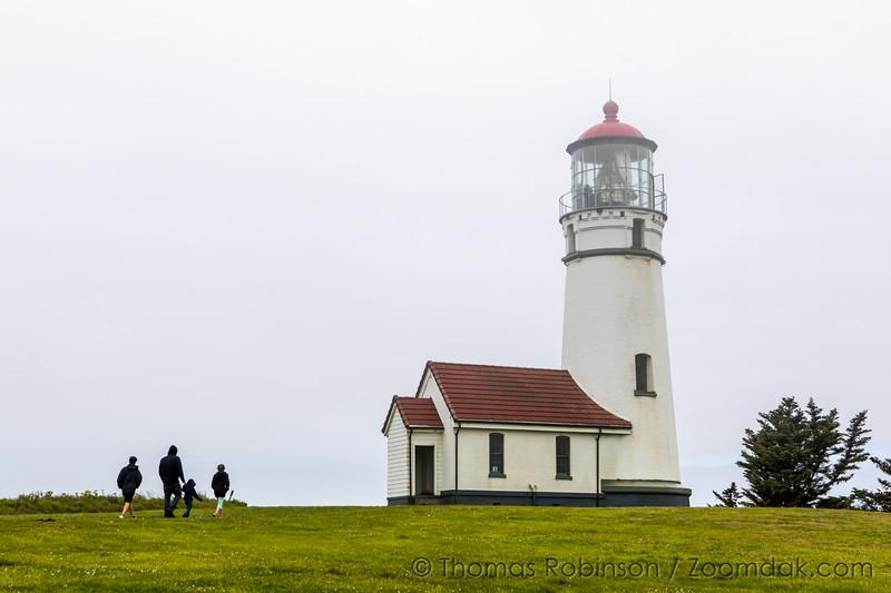 Cape Blanco Light - Overcast Day