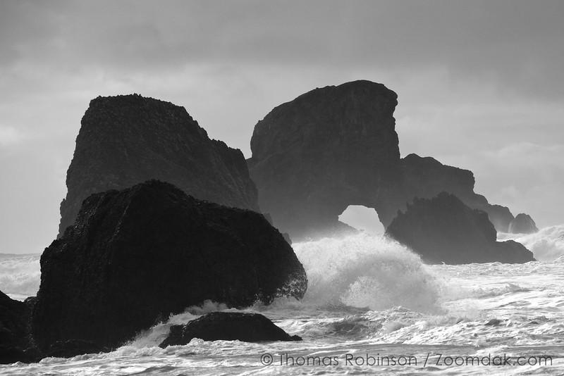 Double Arch, Ocean Seascape