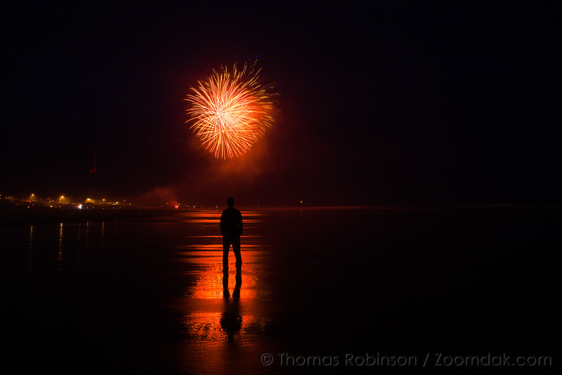 Oregon Coast Fireworks Show