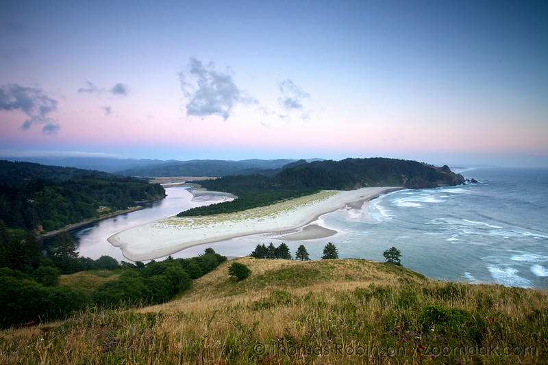 Cascade Head at Twilight