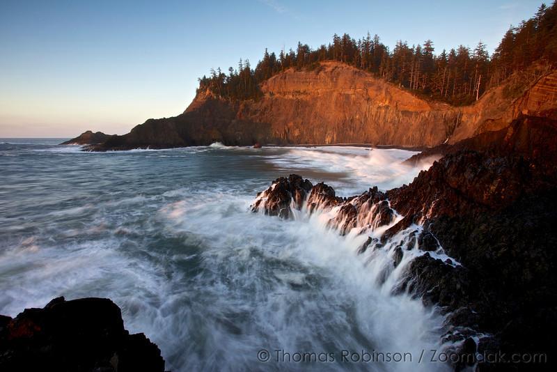 Cape Falcon Sunset Cliffs