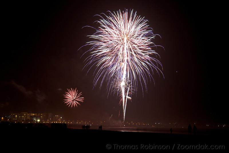 Seaside Oregon Fireworks Show