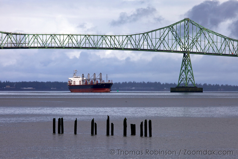 Star Life Cargo Ship on the Columbia River