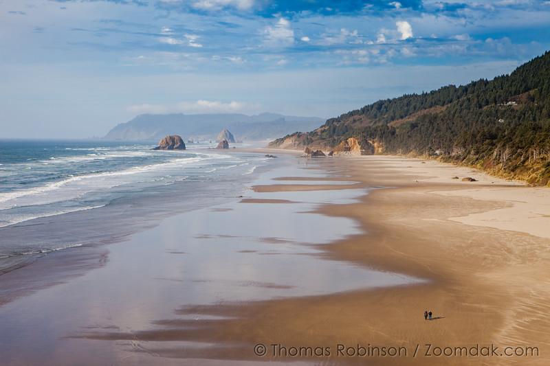 Hug Point North on the Oregon Coast