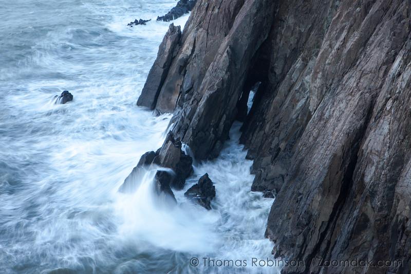 Nehalem Cliffs, Waves Crash