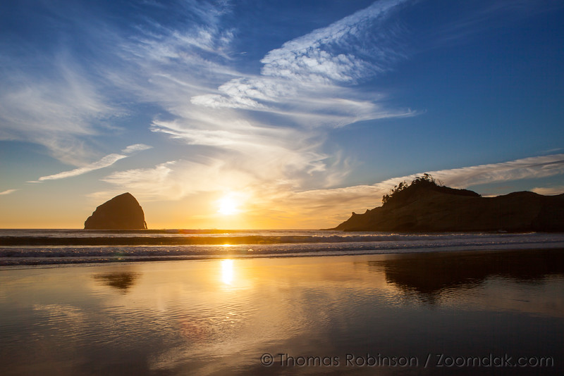 Cape Kiwanda Reflections at Sunset