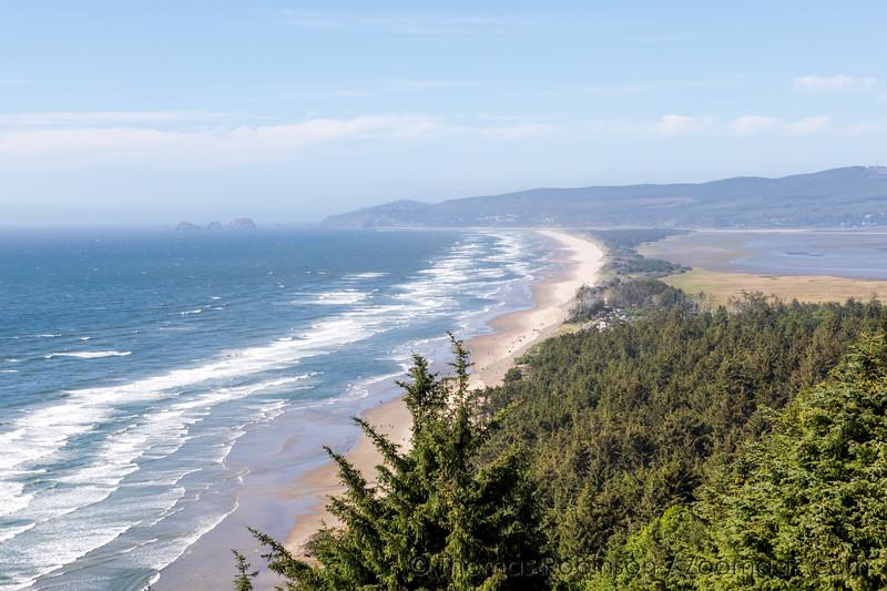 Oregon Coast Looking North