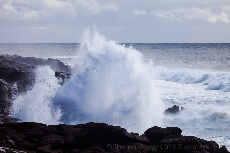 Double Wave Crash at Boiler Bay