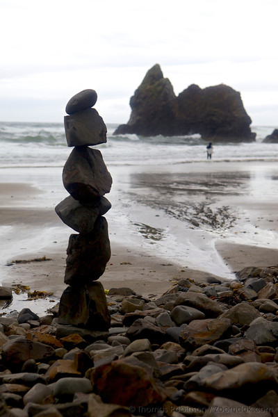 Stone Stack, Arcadia Beach