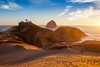Cape Kiwanda Dune View, Sunset Light