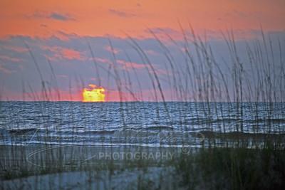 Sunrise over the Gulf