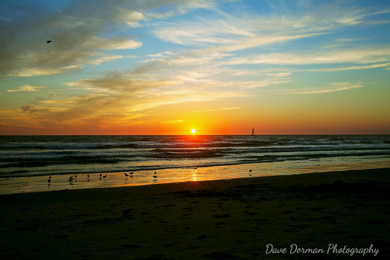 Sunset at Oceanside, CA, October 13, 2012