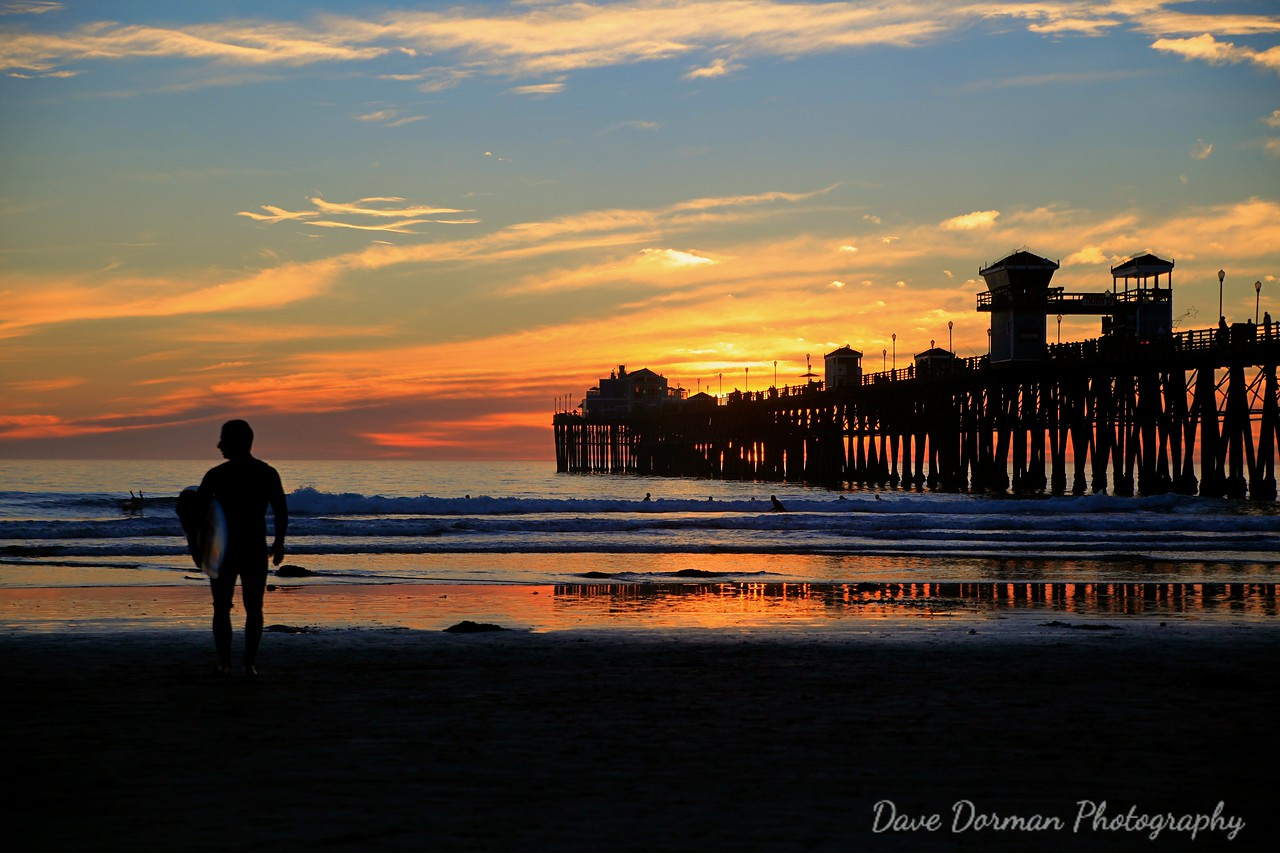 Sunset @ Oceanside Pier1