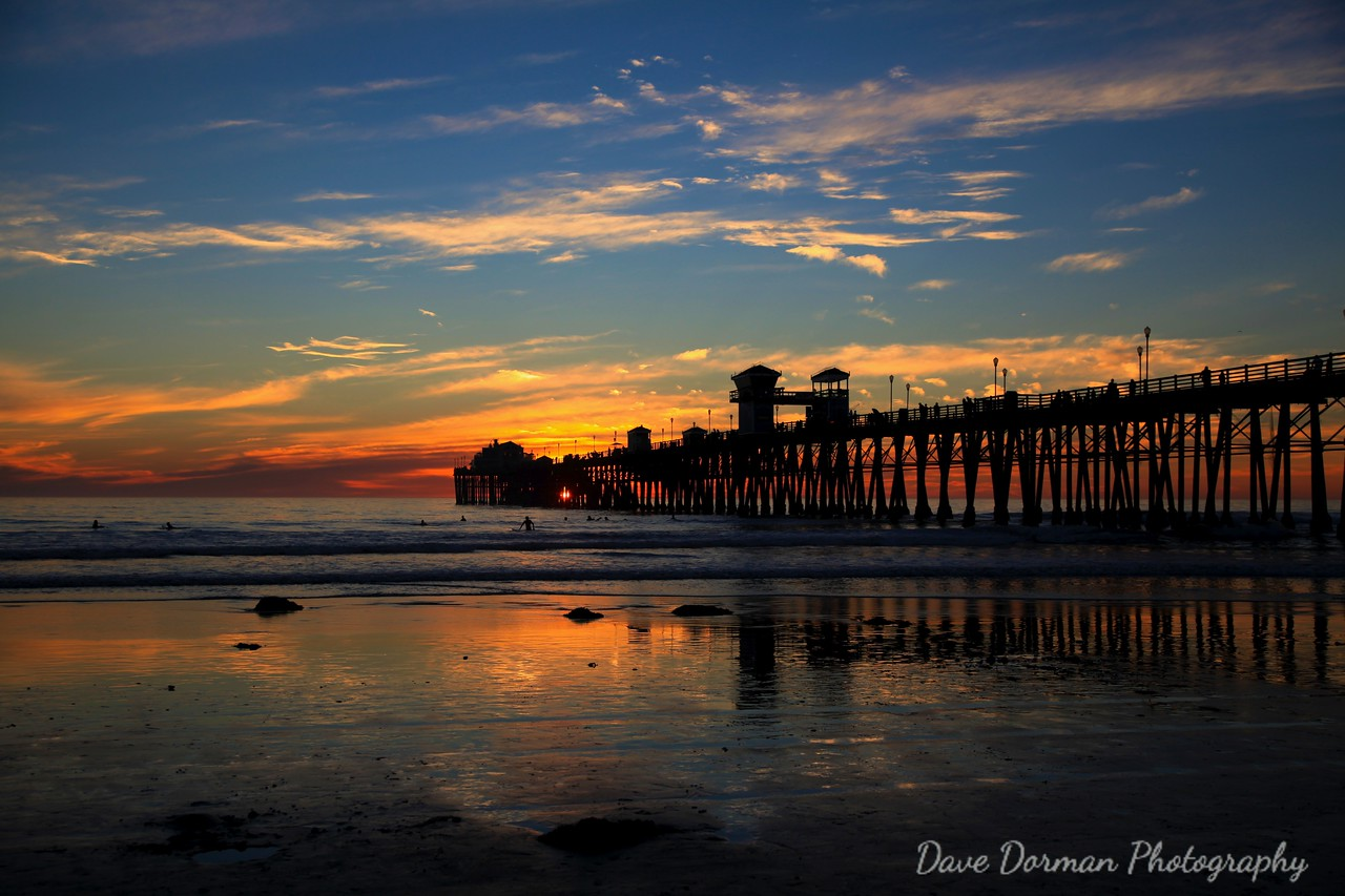 Sunset @ Oceanside Pier2