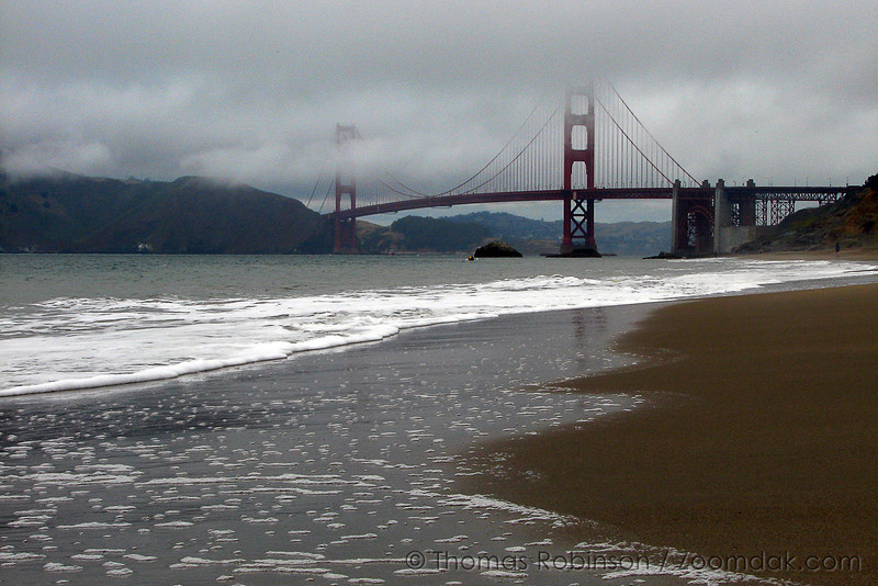 The Golden Gate Bridge in San Franscisco