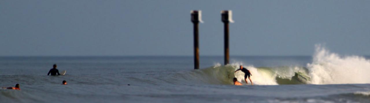 tilt shift surfing