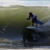 Keith near the pipe in CB 09-20-2010 Surfing Carolina Beach, Pleasure Island, North Carolina