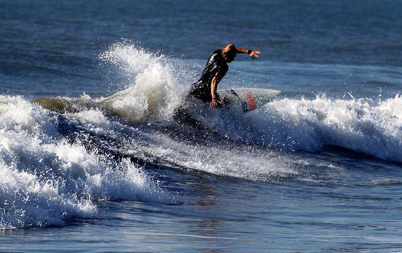 Drain Pipe on 5-27-10 Surfing Carolina Beach, Pleasure Island, North Carolina