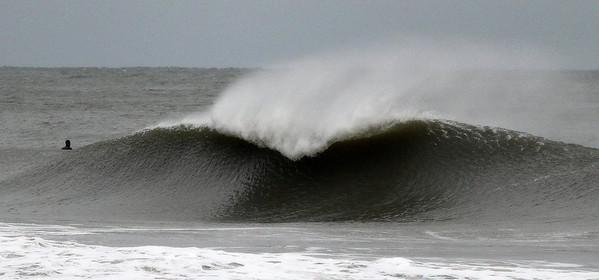 Wave near Ocean Ave-Pleasure Island, Carolina Beach, NC.