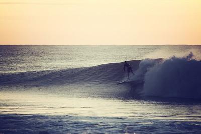 Alex Velit on Pleasure Island 09-08-2011 Surfing Carolina Beach, North Carolina