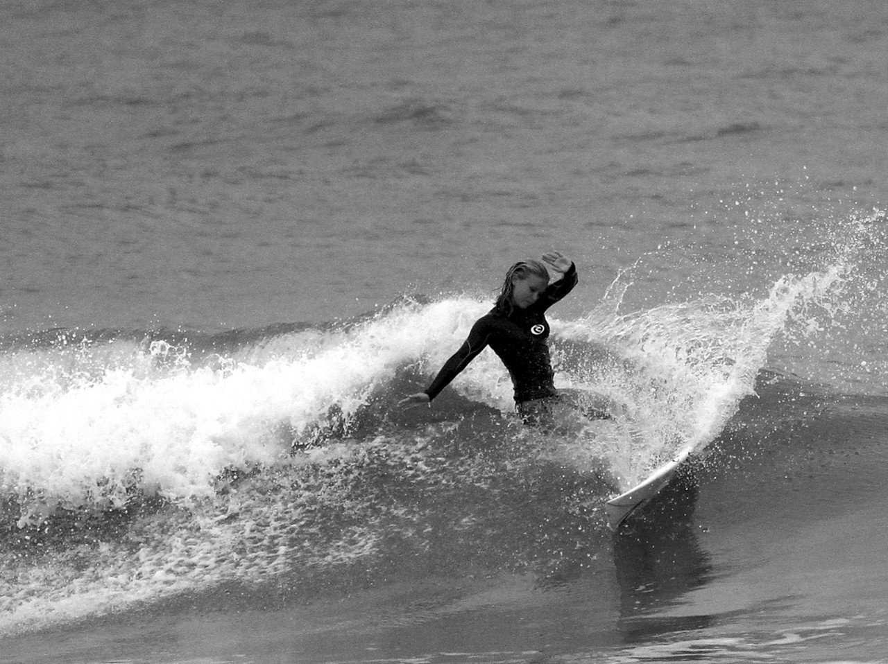 Surfing Carolina Beach, Pleasure Island, North Carolina