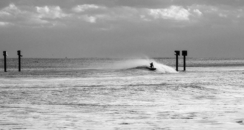 Unknown at the pipe-Hurricane Sandy