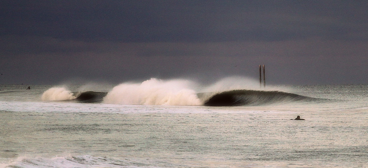Center Pier-Hurricane Sandy