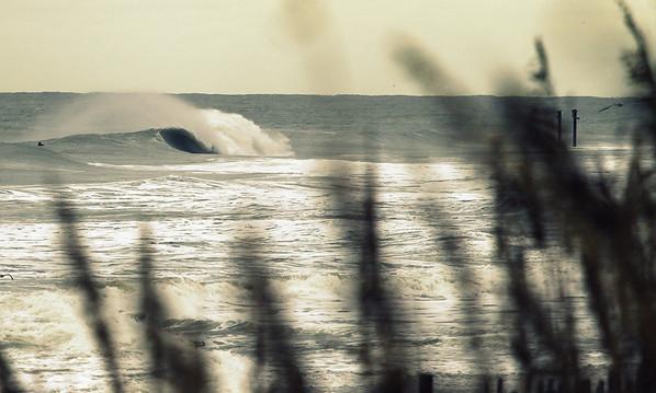 Wave near Alabama Ave-Pleasure Island, Carolina Beach, NC.