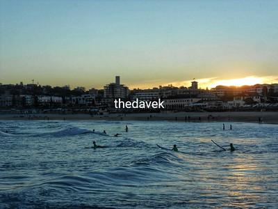 Sunset Surf at Bondi