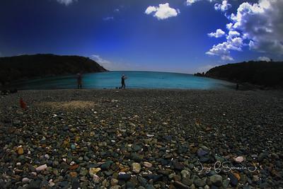 piedra y agua