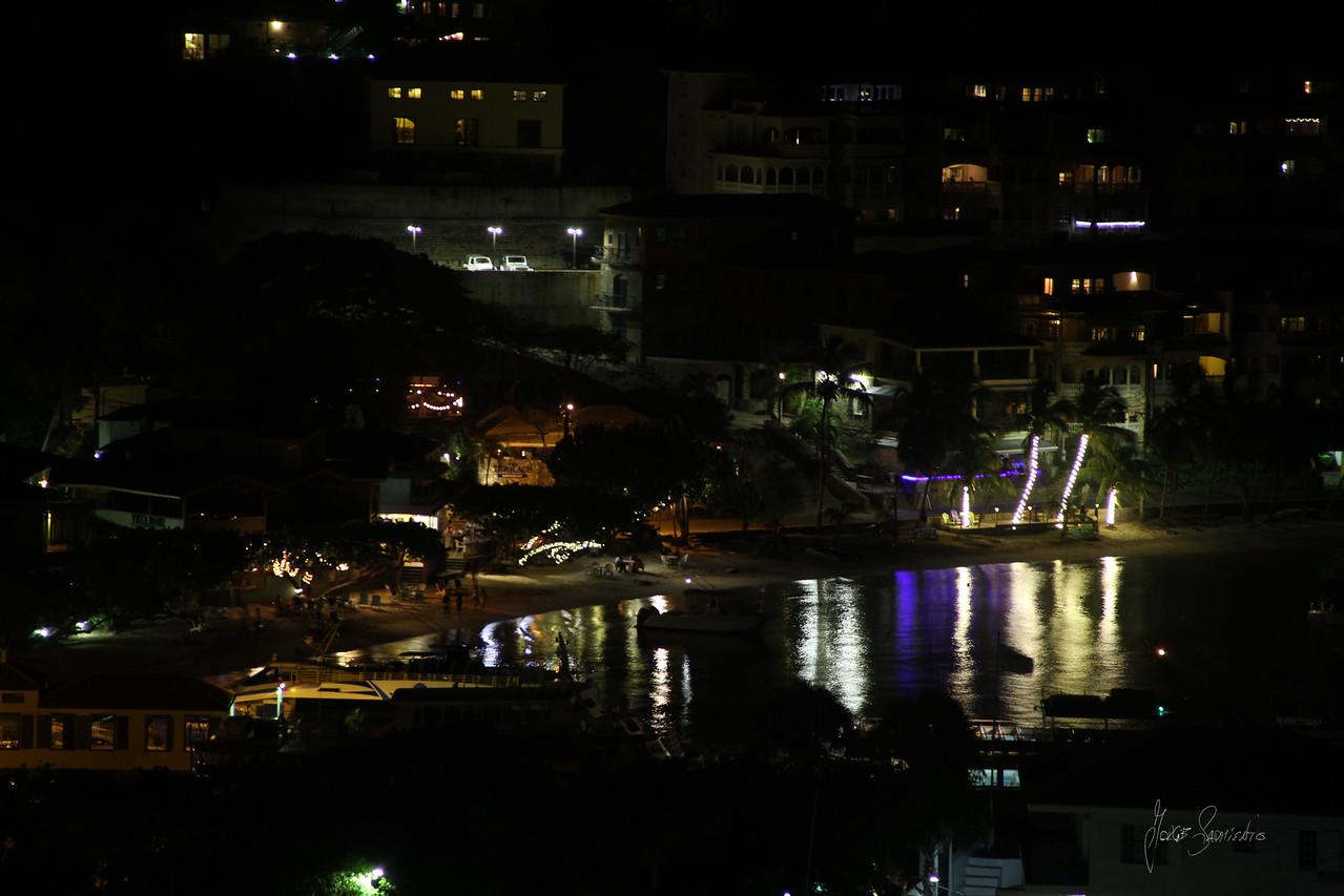 cruz bay night color