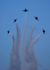 Blue Angels practice at Pensacola Naval Air Station