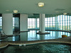 TWO INDOOR POOLS, hot tubs