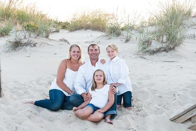 Montgomery Family Beach Portraits August 2017