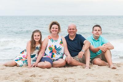 Crummitt Family Beach Portraits July 2018
