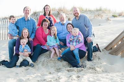 Falkler Family Beach Portraits April 15, 2017