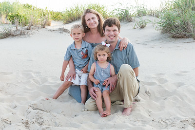 Fogle Family Beach Portraits July 2017