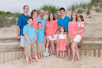 Frantz Family Beach Portraits June 2017