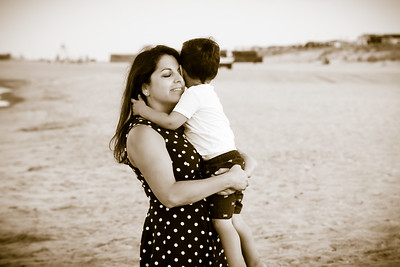 Ginter Family Beach Portraits August 2018