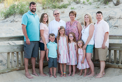 Gottlieb Family Beach Portraits July 2019