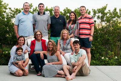 Higgins Family Beach Portraits July 2017