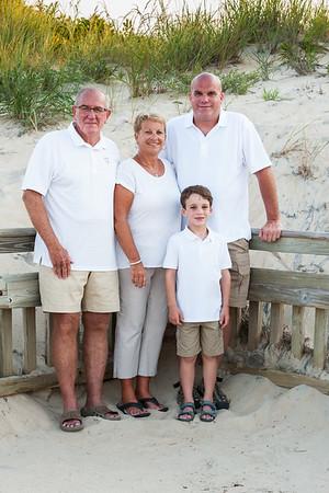 Nolan Family Beach Portraits July 2019