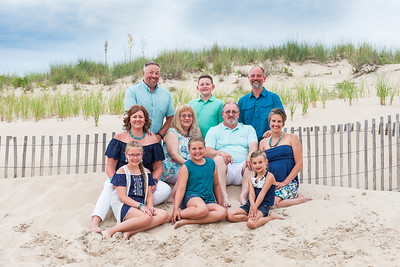 Schafer Family Beach Portraits June 2019