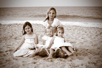 Spangler Family Beach Portraits July 2019