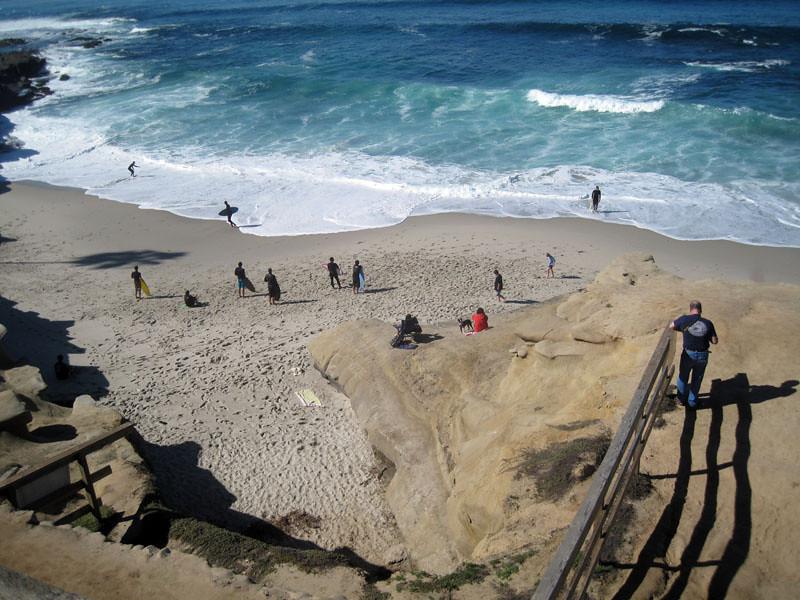 La Jolla Beach Walk