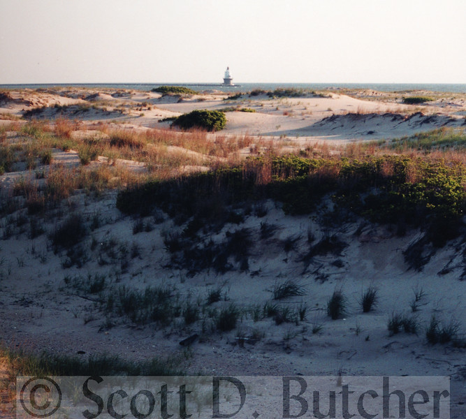 Point of Refuge Lighthouse, Delaware Bay.