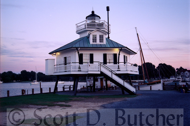 Hooper Strait Lighthouse, St. Michaels, MD.
