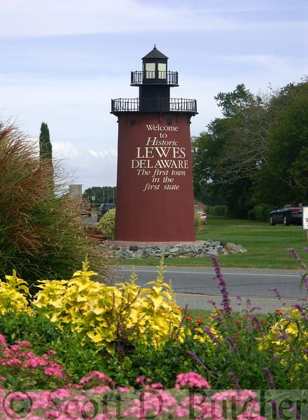 """Lewes """"Lighthouse,"""" DE."""
